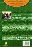 Image de Metodología de la investigación educativa (Manuales de Metodología de Investigación Educativa)