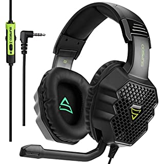 [2017 Supsoo G811 Multi-Platform New Xbox one PS4 Gaming Headset ]3.5 mm Wired Over Ear Gaming Headsets With Microphone ,Depp Bass , Noise Cancelling Headphones For PS4 New Xbox one PC Laptop Mac iPad