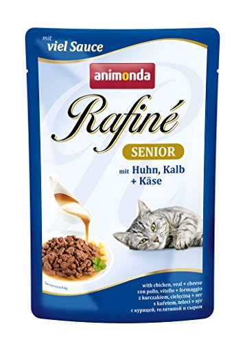 Zoom IMG-2 animonda rafine senior gatto fodera