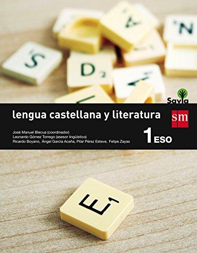 Savia, lengua castellana y literatura, 1 ESO por Ángel Luis García Aceña