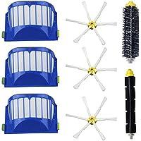 8pcs/lot AeroVac filtro, spazzola laterale, con setole