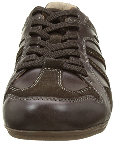 Geox U Houston A, Sneakers Basses Homme Marron (Chocolatec6005)