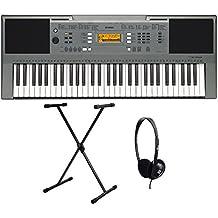 Yamaha PSR-E353 - Set de teclado (con soporte y auriculares, 61 teclas