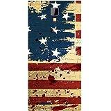 Casotec USA Flag Design Hard Back Case Cover for Micromax Canvas Xpress A99