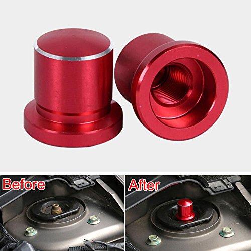 Odster Auto STO?d?mpfer Schrauben-Kappen-Abdeckung Trim Wasserdicht Styling f¨¹r Nissan Sylphy Qashqai X-Trail Altima Mazda CX5 CX9 CX7 2008-15