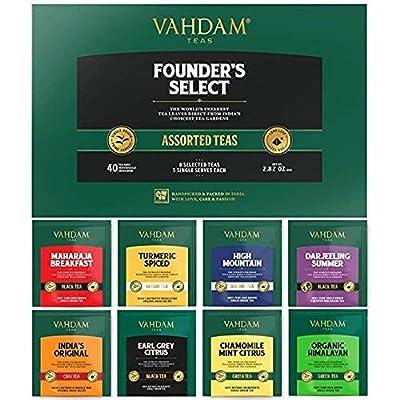 VAHDAM, infuseur à thé original classique | tasse infuseur à thé | Moule à thé en vrac en acier inoxydable 18/8 | Meilleurs infuseur thé | Diffuseur de infuseur à thé | infuseur a the
