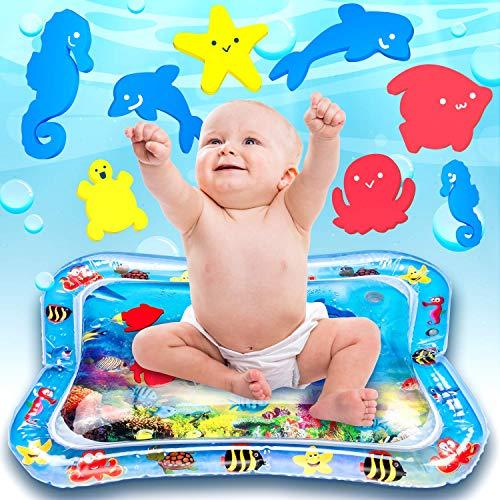Ventvinal Wassermatte Aufblasbare BPA-frei Wasser-Matte Spielzeug Spieldecke Das Stimulationswachstum Ihres Babys Wasser Spielmatte Für Kinder und Kleinkinder (25'' x 18'') -