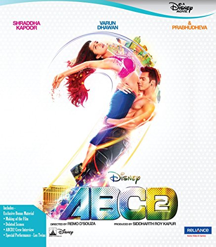 ABCD 2 Any Body Can Dance ~ Blu-ray ~ Hindi mit Englischem Untertitel ~ Varun Dhawan, Shrradha Kapoor, Prabhudeva ~ 2015 ~ Boll