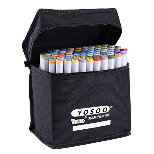 yosoo-farbig-ef101-24-36-48-72-farbe-textmarker-set-markierstift-knstler-farbige-marker-pen-sketch-m