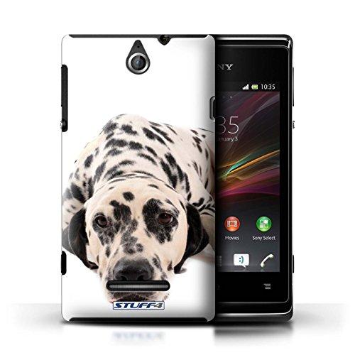 Kobalt® Imprimé Etui / Coque pour Sony Xperia E / Berger allemand conception / Série Chiens Dalmatien