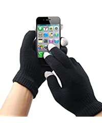 TRIXES Mens Womens Winter Touch Screen Gloves for Smart Phone