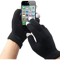 TRIXES 1 Paire de gants hiver pour écran tactile hommes femmes pour iPhone iPad Smart Phone