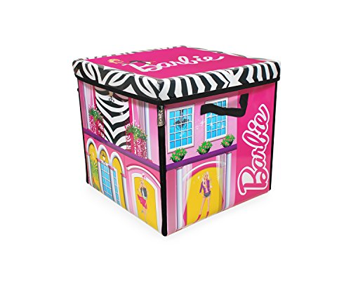 Barbie A1465XX - Zipbin casa de ensueño, caja de almacenamiento