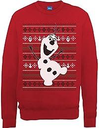 Disney Frozen Christmas Olaf Dance-sudadera Mujer
