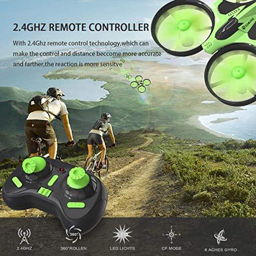 Mini Quadrocopter Drohne, EACHINE E010 Mini Drone RC Quadcopter Spielzeug und Geschenk für Kinder Anfänger - 2