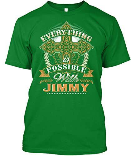 teespring Novelty Slogan T-Shirt - Everything Possible With Jimmy