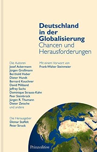 Deutschland in der Globalisierung - Chancen und Herausforderungen
