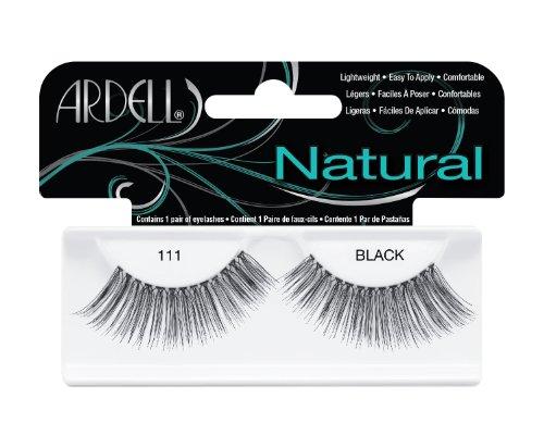 Ardell Fashion Wimpern (Ardell Fashion Lashes 111, das Original, black, 1er Pack (1 x 1 Paar))