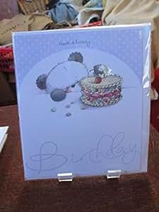 Carte d'anniversaire Motif Panda