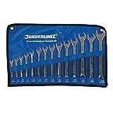 Silverline SP50 Combination Spanner Set, 8-24 mm - 14 Pieces