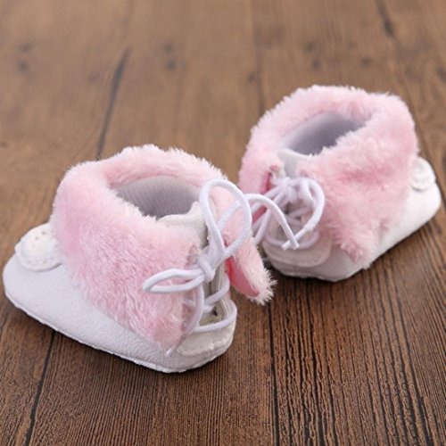 Schuhe Baby Winterstiefel Schneestiefel Krippe Weiß Weiche Bzline® Sohle 6O1WZB