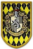 Harry Potter Stil Banner–Hufflepuff Flagge 94x 61cm–beidseitig bedruckt–langlebig genug für Außerhalb Bedingungen–Perfekt-Man Cave Geschenk–Einzigartiges HP Sammlerstück Zubehör