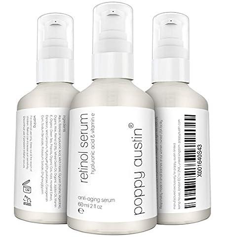 Retinol Serum von Poppy Austin® - DOPPELTE GRÖSSE 60ML -