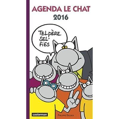 Agenda le chat 2016