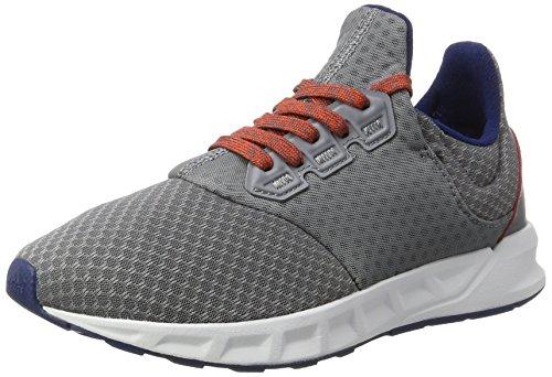 adidas Falcon Elite 5 Xj, Chaussures de Running Compétition Mixte Adulte, Gris (Gris/(Gris/Ftwbla/Azumis) 000), 39 1/3 EU