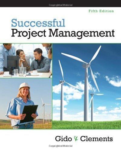 Successful Project Management (with Microsoft Project 2010) (Edition 5) by Gido, Jack, Clements, James P. [Hardcover(2011??]