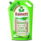RAINETT Lessive Liquide Concentrée Ecologique Aloé Vera 2 Recharges de 1,98 L