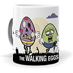 "Taza ""The walking dead"" versión mundohuevo"