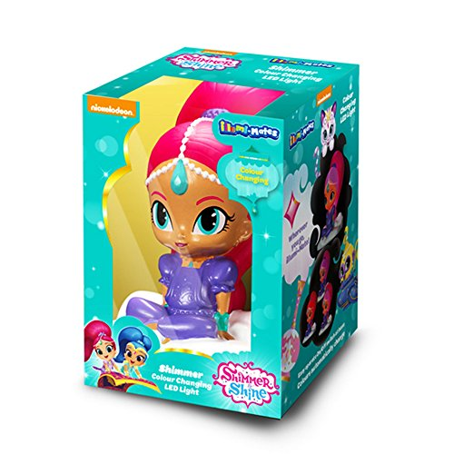 Shimmer And Shine Official Illumi-Mates Nachttischlampe Shimmer (One Size) (Bunt)