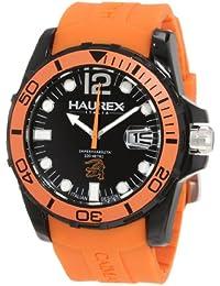 5dc7be82bd2c Haurex Italy N1354UNO - Reloj analógico de Cuarzo para Hombre con Correa de  Caucho