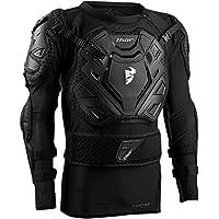 Thor Sentry XP protectores Chaqueta de pecho negro Enduro Offroad Motocross