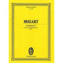 Sinfonie Nr. 30 D-Dur: KV 202. Orchester. Studienpartitur. (Eulenburg Studienpartituren)
