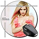 Avril Lavigne Tapis De Souris Ronde Round Mousepad PC