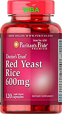 Puritan's Pride Red Yeast Rice 600 Mg 120 Capsules Fast Dispatch (520) from PURITAN'S PRIDE