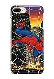 Case Me Up Coque téléphone pour iPhone 6+ [Plus] Spiderman Peter Parker Marvel Comics Superhero 16 Dessins