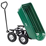 Draper Garden Tipper Cart - Green