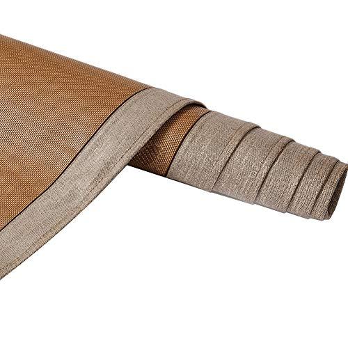 Bambus Matratzen Bettmatte Matratzen Sommer-Schlafmatten Strohmatte Teppiche Natürlich Rattan Zuhause Schlafzimmer Schlafsaal Faltbar Ohne Kopfkissenbezug 1,2/1,5/1,8 M (Size : 1.8x2.0m) (Teppich 5x8 Bambus)