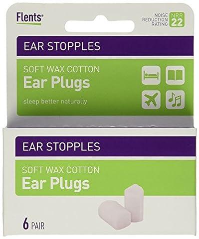 Flents Ear Stopples (6) - En cire coton