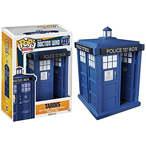 Ares Games srl FNK5286 Pop - Doctor Who - Tardis 6 in. by Ares Games srl