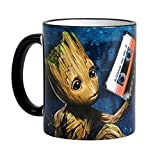 Guardians of the Galaxy Vol. 2 Tasse Groot Music von Elbenwald Keramik blau