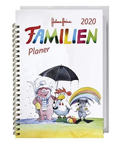 Helme Heine Familienplaner Buch A5 2020 15,2x23,2cm
