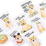 Postkarten Nette Hundemuster-Gruß-Karten Set von 30