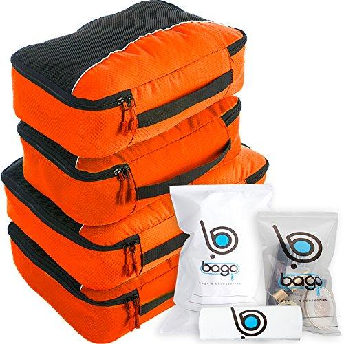 Cubos de embalaje valor establecido para viajes - 4 Organizador con do