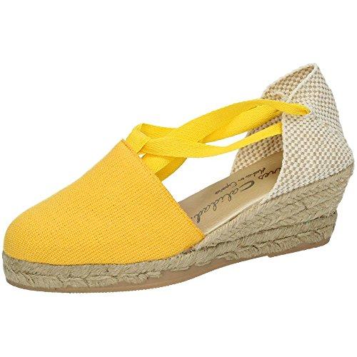 TORRES Valenciana VALENCIANAS Amarilla Mujer Alpargatas Amarillo 38