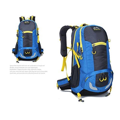 Pathfinder Pionier im Freien Rucksack Bergsteigen Tasche Berg Tasche aus wasserdichtem Nylon-Verschl¨¹sselung Blau