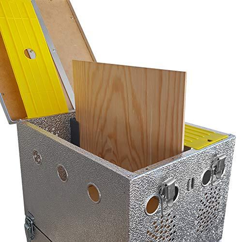 Breker Aluminium Transportkorb 10 Abteilungen - 2